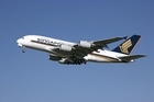One of Singapore Airlines' Airbus A380s. Photo / Supplied