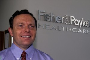 Fisher & Paykel Healthcare chief executive Michael Daniell. Photo / Derek Flynn