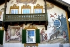 A house in Oberammergau, southern Germany. Photo / Wikimedia Commons