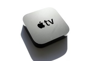 The Apple TV no longer has a built-in hard drive.