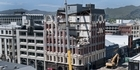 View: Christchurch heritage building demolished