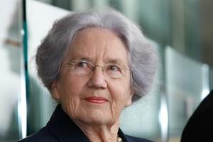 Lady June Hillary. Photo / Greg Bowker