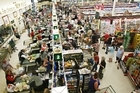 Supermarkets enjoyed a nine per cent growth in sales during October. 