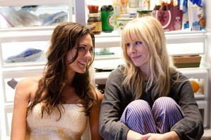 Kristen Bell, right, and Odette Yustman in  You Again . Photo / Supplied