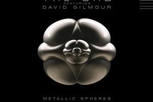 Album cover of the Orb's album  Metallic Spheres . Photo / Supplied
