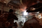 A battle rages in the city of Hue, Vietnam, during the Tet offensive in a scene from, 'Call of Duty: Black Ops.' Photo / AP