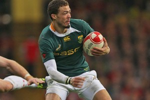 South Africa's Bjorn Basson. Photo / Getty Images