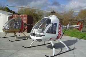 Ultrasport helicopters will need a microlight licence with a helicopter endorsement and could appeal to farmers. Photo / Supplied