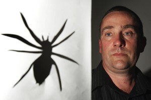 Simon Ellingham still gets painful outbreaks on his skin because of the spider's bacteria. Photo / APN