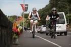 Jane Bishop died on a stretch of Tamaki Drive which a triathelete who often travels on it says is particularly dangerous for cyclists because it is narrow and has a tight corner. Photo / Greg Bowker