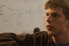 Jesse Eisenberg plays a smart American in <i>The Social Network</i>. Photo / Supplied