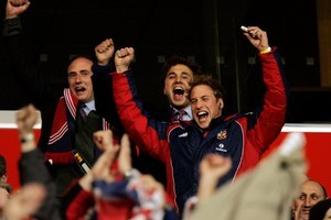 Will Prince William come to New Zealand and the World Cup for his honeymoon? Photo / Herald on Sunday