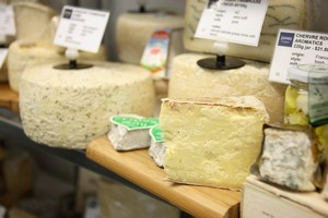 Jones the Grocer has a resident cheese expert and a huge range of cheeses. Photo / Jennie Milsom