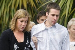 Brooke and Andrew Mears will spend Christmas together, but he may then be jailed. Photo / APN
