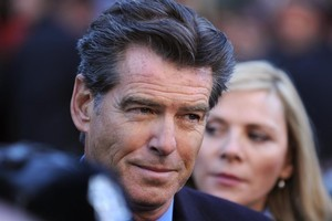 Pierce Brosnan plays ex-British PM Adam Lang in The Ghost Writer. Photo / Supplied