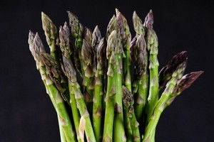 Choose asparagus bright in colour with no signs of split or wrinkled ends. Photo / Babiche Martens