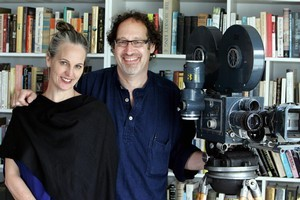 Sumner Burstyn and her husband, director Thomas Burstyn. Photo / APN