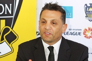 Wellington Phoenix owner Terry Serepisos. Photo / Getty Images
