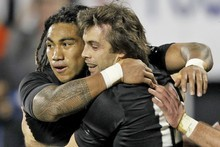 Ma'a Nonu and Conrad Smith will reunite to form the All Blacks midfield against Ireland on Sunday. Photo / Getty Images