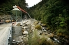 The portal, or mine entrance, of the Pike River Coal mine. Photo / NZ Herald