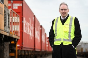 KiwiRail chief executive Jim Quinn. Photo / Natalie Slade