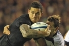 Sonny Bill Williams was impressive in a man of the match performance. Photo / Getty Images