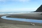 Karekare beach. Photo / NZ Herald