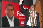 New Labour MP Kris Faafoi faced criticism during the campaign because he did not live in the electorate. Photo / Getty Images