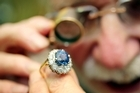Anthea's Antiques has a ring similar to the late Princess Diana's. Photo / Herald on Sunday