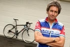 Broadcaster Mike Hosking is both a cyclist and petrolhead - but he knows his place on the road. Photo / Janna Dixon