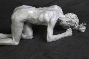 Crawling Man  by Sam Harrison. Photo / Paul Estcourt
