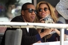Beyonce and Jay-Z wining and dining. Photo / Janna Dixon