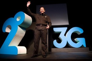 2Degrees chief executive Eric Hertz unveiled details of its new 3G network as the company celebrated its first year in the New Zealand market in August. Photo / Richard Robinson.