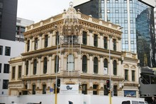 The owners of the 124-year-old Palace Hotel, Michael and John Chow, say they were not consulted before the building was knocked down.  Photo / Greg Bowker
