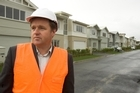 Patrick Fontein, at one of his developments, Kensington Park, north of Auckland. Photo/Paul Estcourt