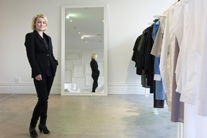 Alexandra Owen is hoping for orders from Bergdorf Goodman and Barneys New York. Photo / Mark Mitchell