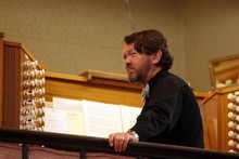 John Wells says people don't associate the organ with music that will grab them like a Beethoven Symphony. Photo / APN