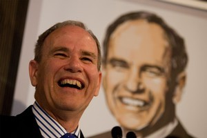 Auckland Mayor Len Brown. Photo / Dean Purcell