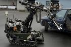 The Defence Force robot. Photo / NZDF