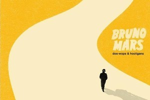 Bruno Mars' album cover for  Doo Wops and Hooligans . Photo / Supplied