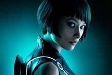 Olivia Wilde in TRON. Photo / Supplied