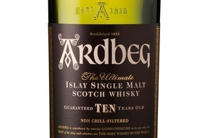Ardbeg 10 years old, RRP $95. Photo / Supplied