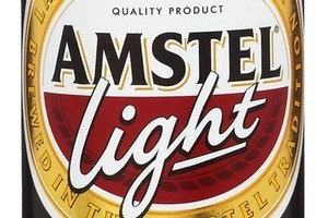 Amstel Light, RRP 6-pack (bottles) $12.89. Photo / Supplied