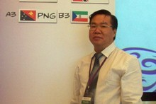 Papua New Guinea and Oceania and Fifa football representative David Chung. Photo / Supplied 