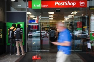 David Cunliffe cited Kiwibank as an example of a subsidiary that had added value to its state-owned parent, NZ Post. Photo / Richard Robinson
