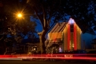 Franklin Rd is transformed for Christmas festivities. Photo / Greg Bowker