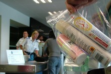If it's in a ziplock bag, then it must be safe, right? Photo / Aviation Security Service 