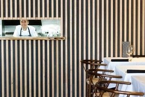 Eating at new Ponsonby Japanese restaurant Cocoro, run by Soto's Makoto Tokuyama, is a 'gentle and wonderful' experience. Photo / Babiche Martens