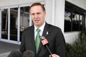 Prime Minister John Key. Photo / Steven McNicholl