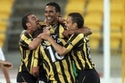 The Wellington Phoenix will be looking to make it 2 from 11. Photo / Getty Images